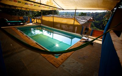 Heated therapy pool in south Goa