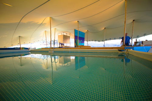therapy pool building consultancy, Being Festival, Portugal